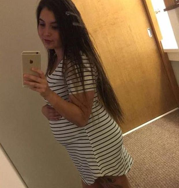 Savanna Lafontaine- Greywind was eight months pregnant when she went missing Photo: Facebook