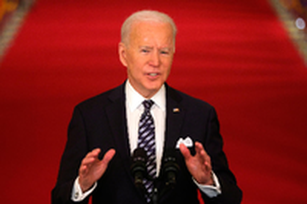 Joe Biden's First Press Conference As POTUS Faces Fire Over