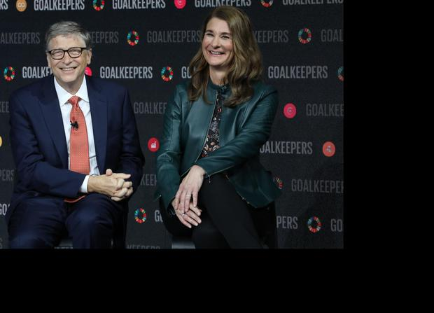Bill and Melinda Gates. Photo: AFP via Getty Images