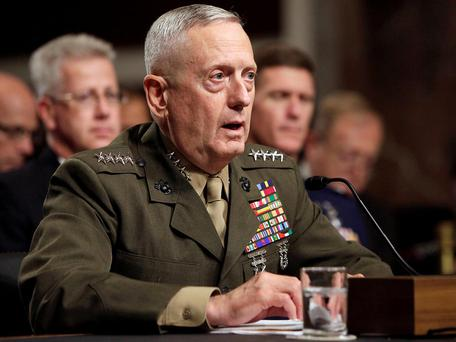 The retired four-star general would need a waiver to be eligible as he has not been out of uniform for seven years Photo: Reuters